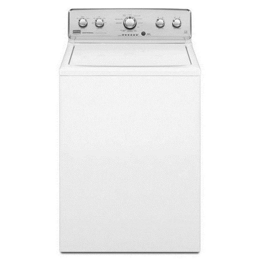Maytag Centennial 3.8-cu ft High-Efficiency Top-Load Washer (White)