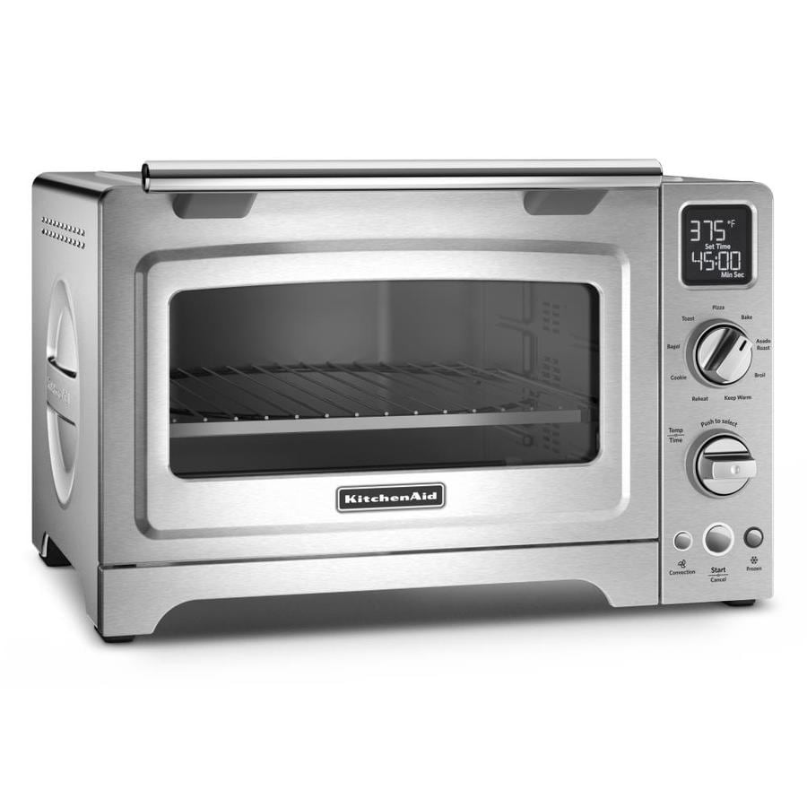 Kitchenaid 6 Slice Stainless Steel Convection Toaster Oven