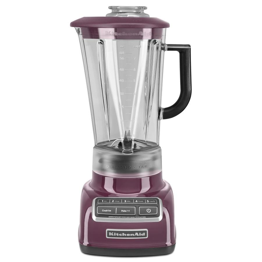 KitchenAid Diamond 60-oz Boysenberry 5-Speed 630-Watt Pulse Control Blender