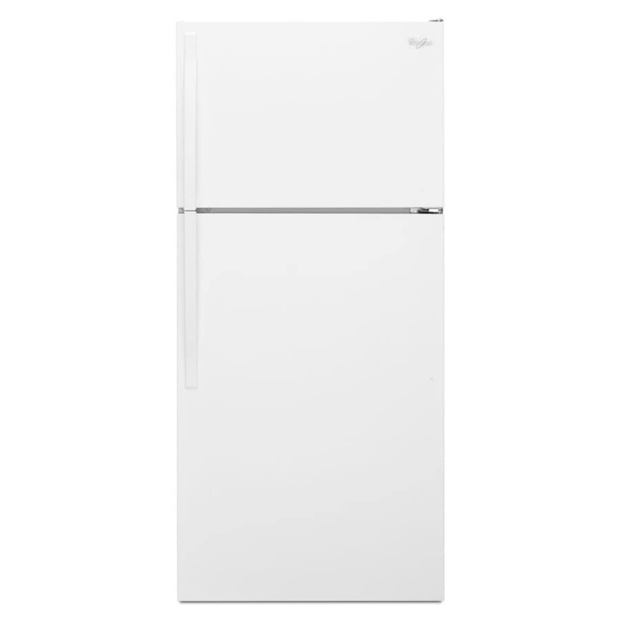 Whirlpool 14.3-cu ft Top-Freezer Refrigerator (White) ENERGY STAR