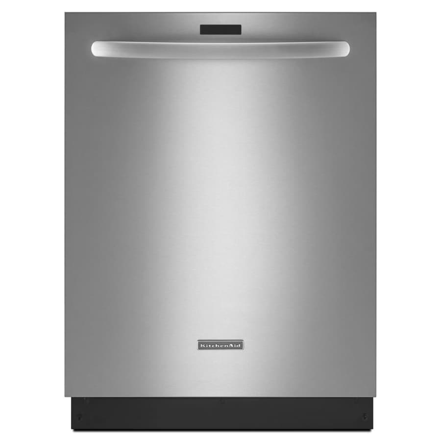 KitchenAid Architect II 43-Decibel Built-In Dishwasher (Stainless Steel) (Common: 24-in; Actual: 23.875-in) ENERGY STAR