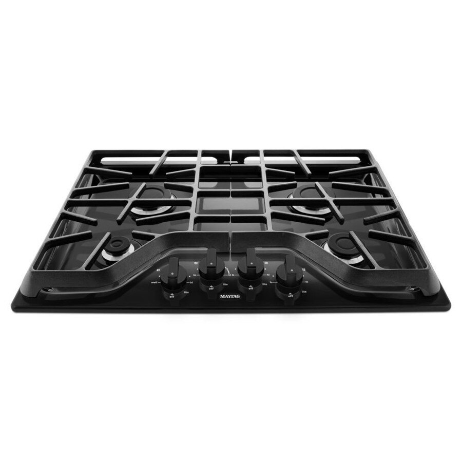 Maytag Gas Cooktop (Black) (Common: 30-in; Actual: 30-in)