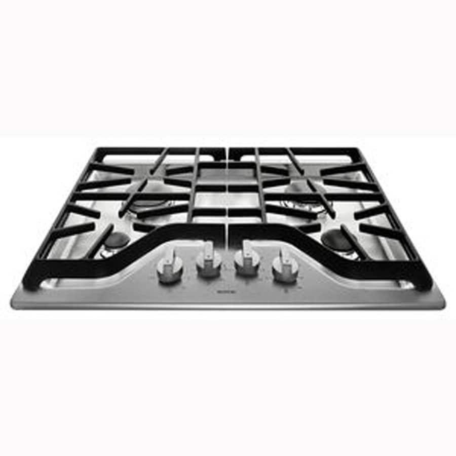 Maytag 4-Burner Gas Cooktop (Stainless Steel) (Common: 30-in; Actual: 30-in)