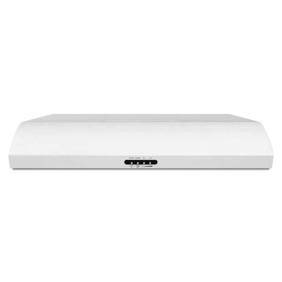 Whirlpool Undercabinet Range Hood (White) (Common: 30-in; Actual: 29.9375-in)