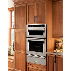 Kitchenaid Self Cleaning Convection Microwave Wall Oven