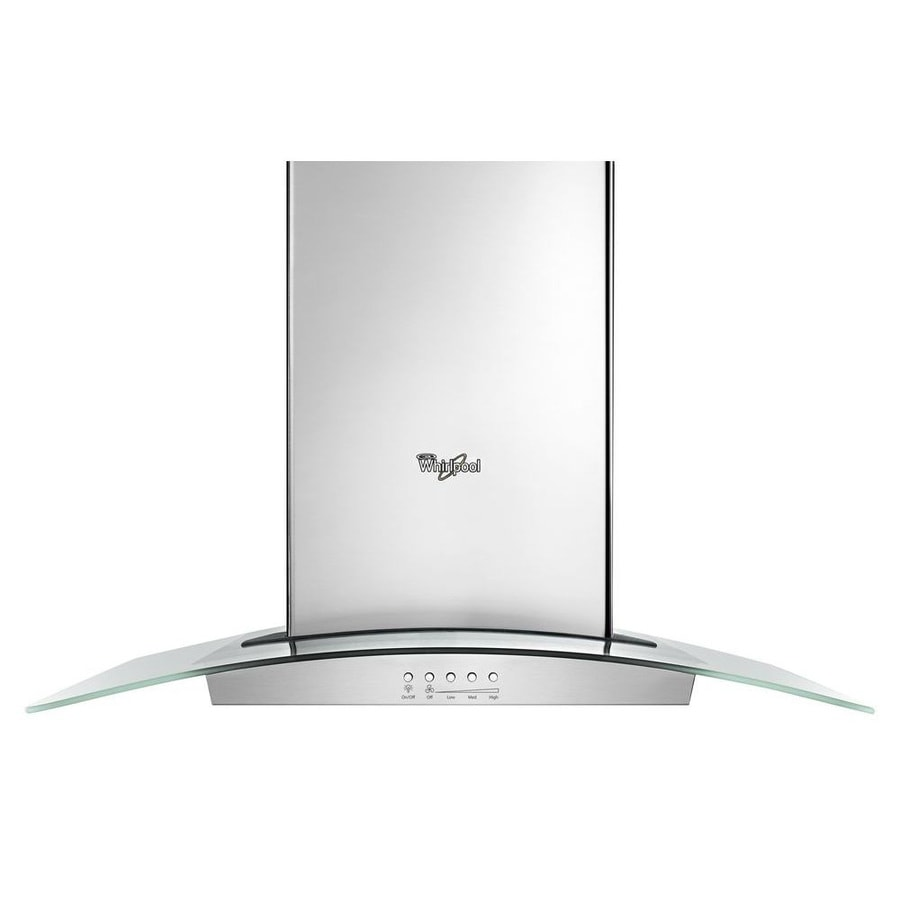 Whirlpool Convertible Wall-Mounted Range Hood (Stainless Steel) (Common: 36-in; Actual: 30-in)