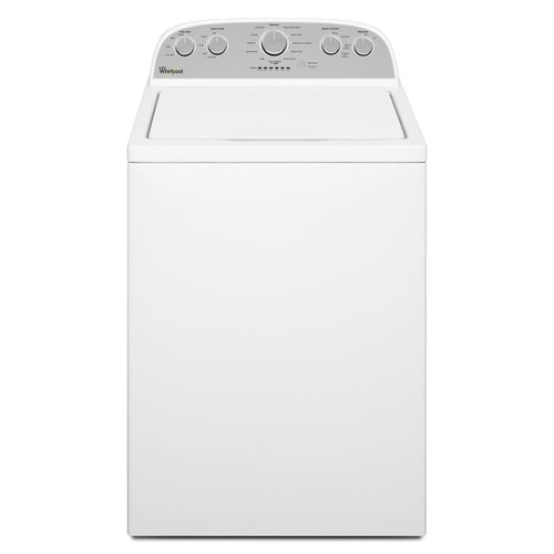 Whirlpool 4.3-cu ft High Efficiency Top-Load Washer (White) at Lowes.com