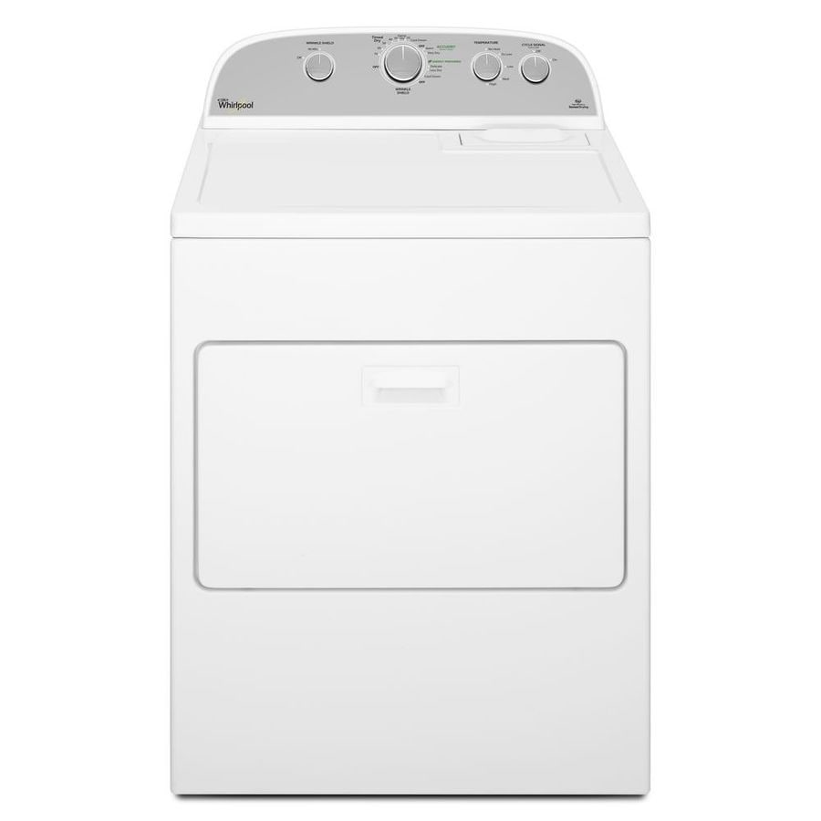 Whirlpool 7-cu Ft Electric Dryer (White) At Lowes.com