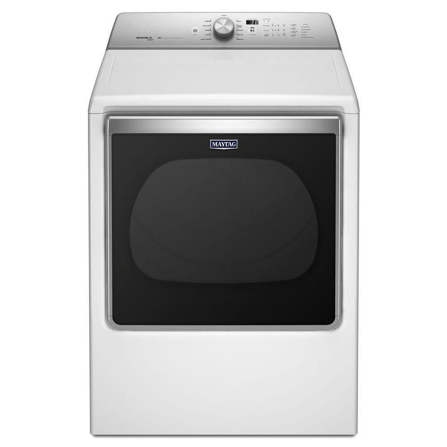 Maytag 8.8-cu ft Gas Dryer with Steam Cycle (White)
