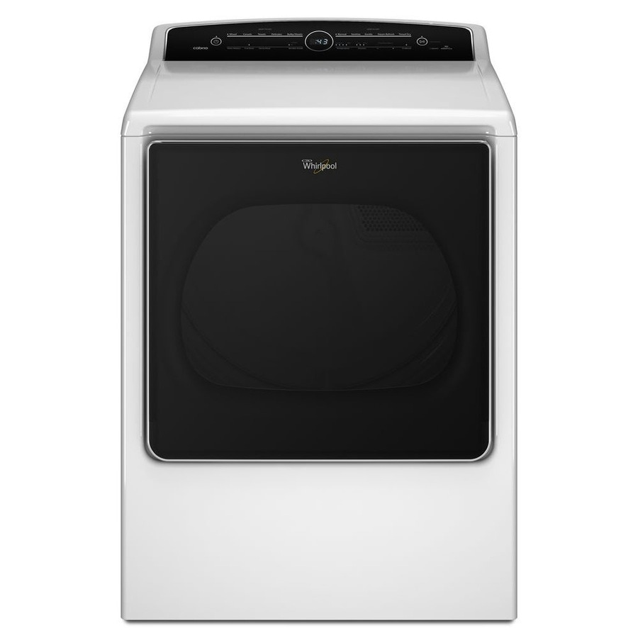 Whirlpool Cabrio 8.8-cu ft Electric Dryer (White) ENERGY STAR