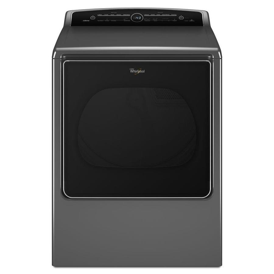 Whirlpool Cabrio 8.8-cu ft Electric Dryer Steam Cycle (Chrome Shadow) ENERGY STAR