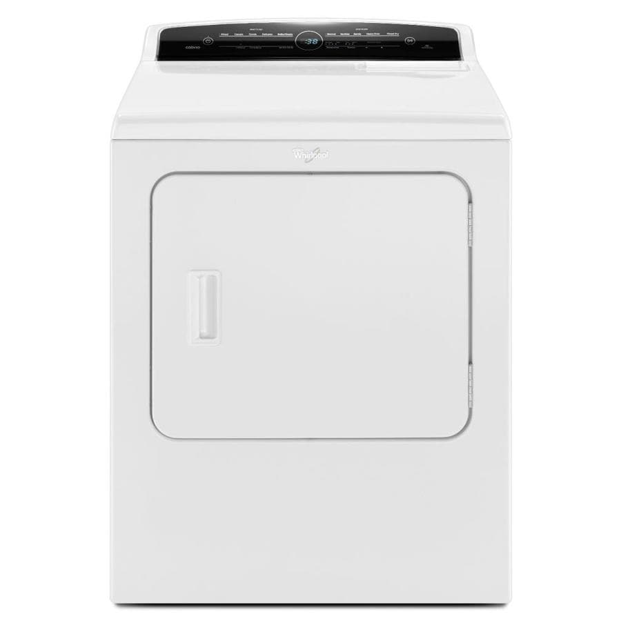 Whirlpool 7-cu ft Gas Dryer (White)