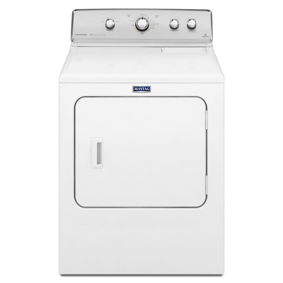 Maytag Centennial 7-cu ft Gas Dryer (White) at Lowes.com