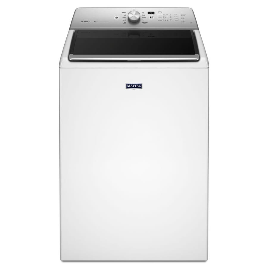 Maytag 5.3-cu ft High-Efficiency Top-Load Washer (White) ENERGY STAR