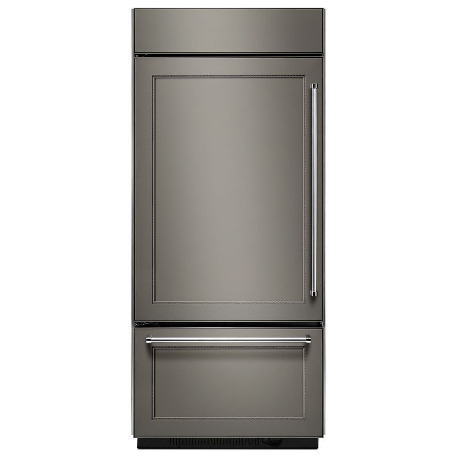 Shop Kitchenaid 20 9 Cu Ft Bottom Freezer Refrigerator