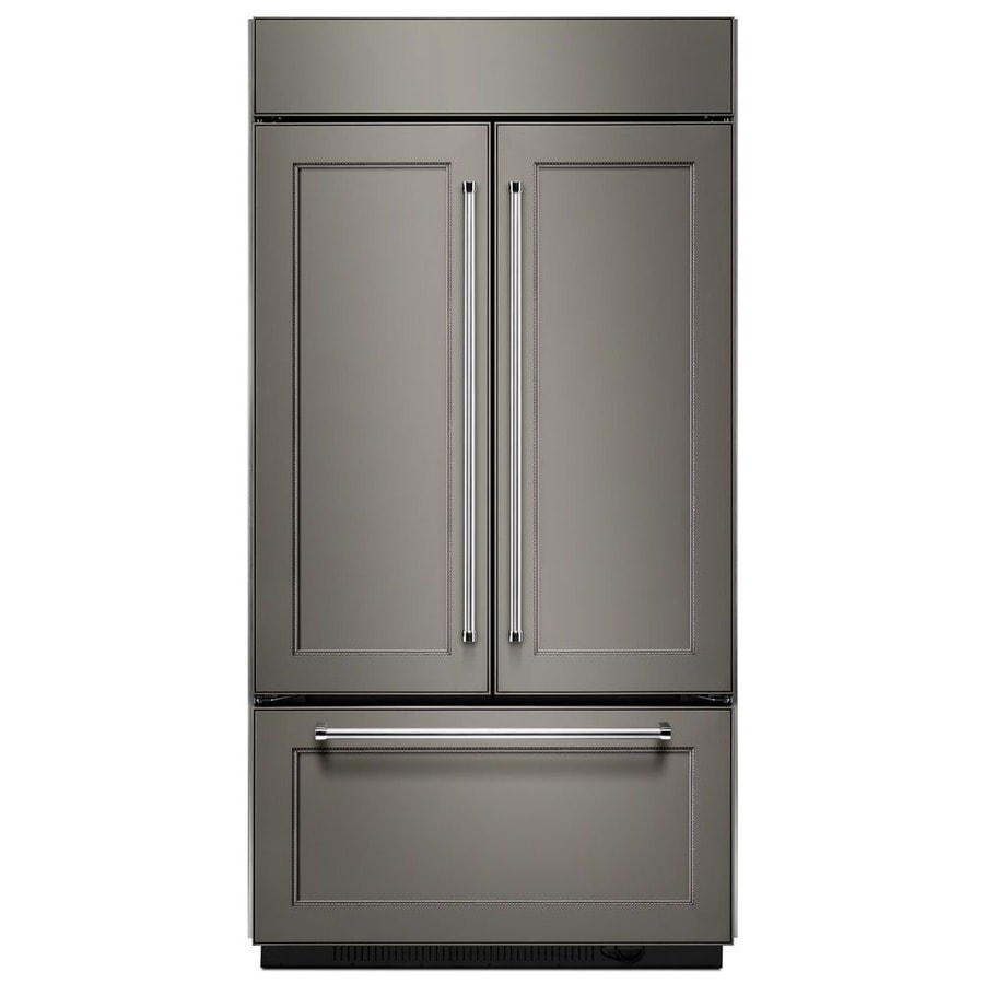 Shop Kitchenaid 24 2 Cu Ft 3 Door Built In French Door