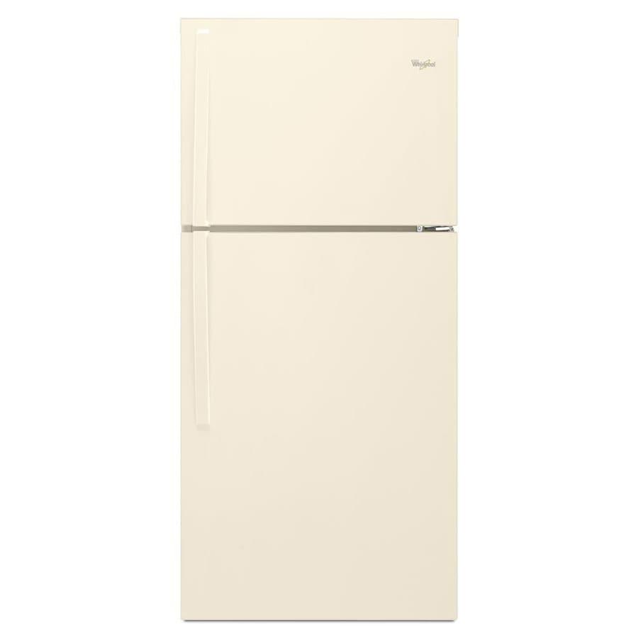 Whirlpool 19.1-cu ft Top-Freezer Refrigerator (Biscuit)