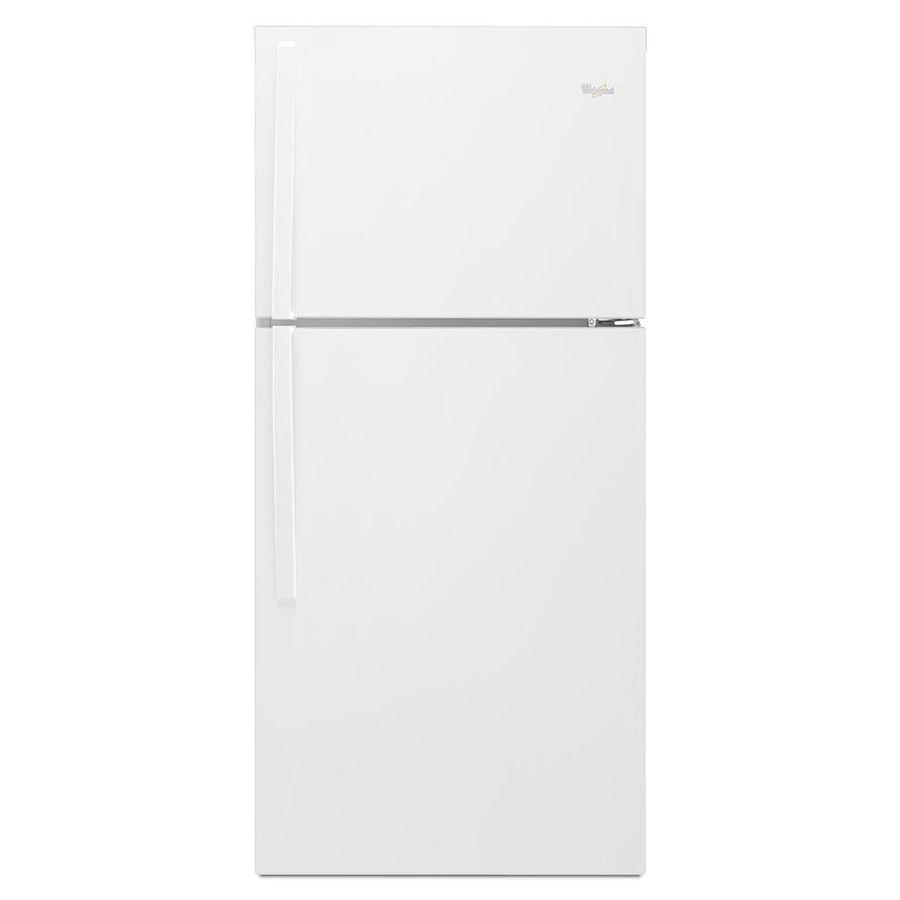Whirlpool 19.1-cu ft Top-Freezer Refrigerator (White) ENERGY STAR