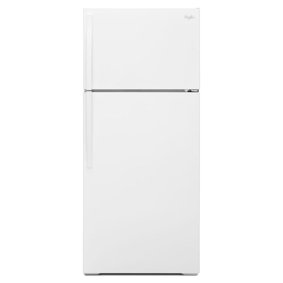 Whirlpool 16-cu ft Top-Freezer Refrigerator