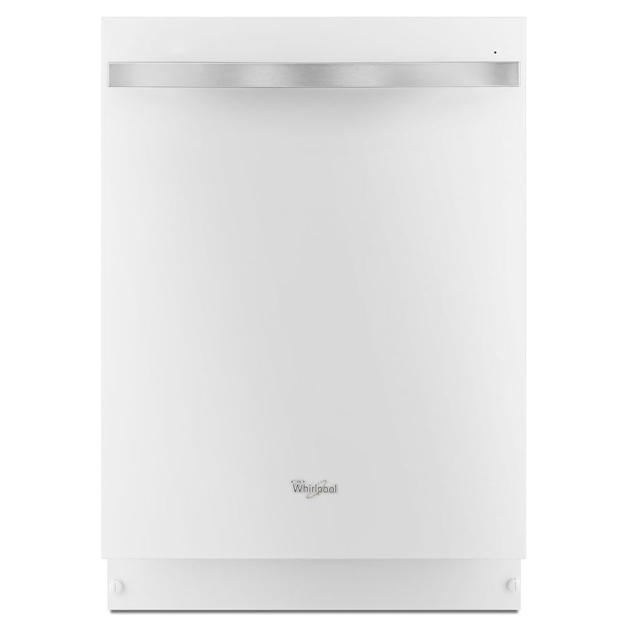 Whirlpool Gold 51-Decibel Built-In Dishwasher (White Ice) (Common: 24-in; Actual: 23.875-in) ENERGY STAR