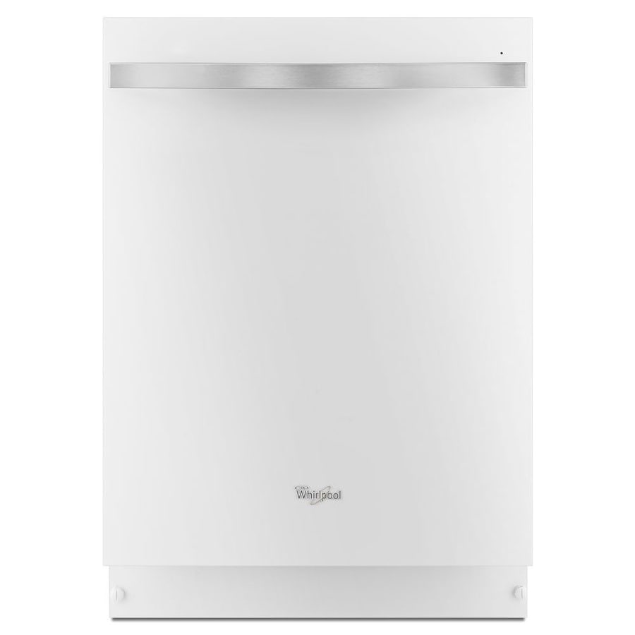 Lowes whirlpool white ice collection - Whirlpool Gold 46 Decibel Built In Dishwasher White Ice Common