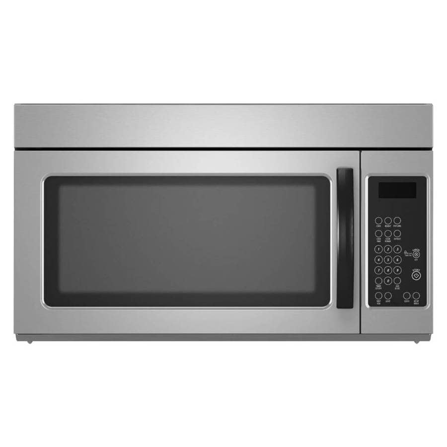 Lowes microwaves over the range white - 1 6 Cu Ft Over The Range Microwave Monochromatic Stainless Steel