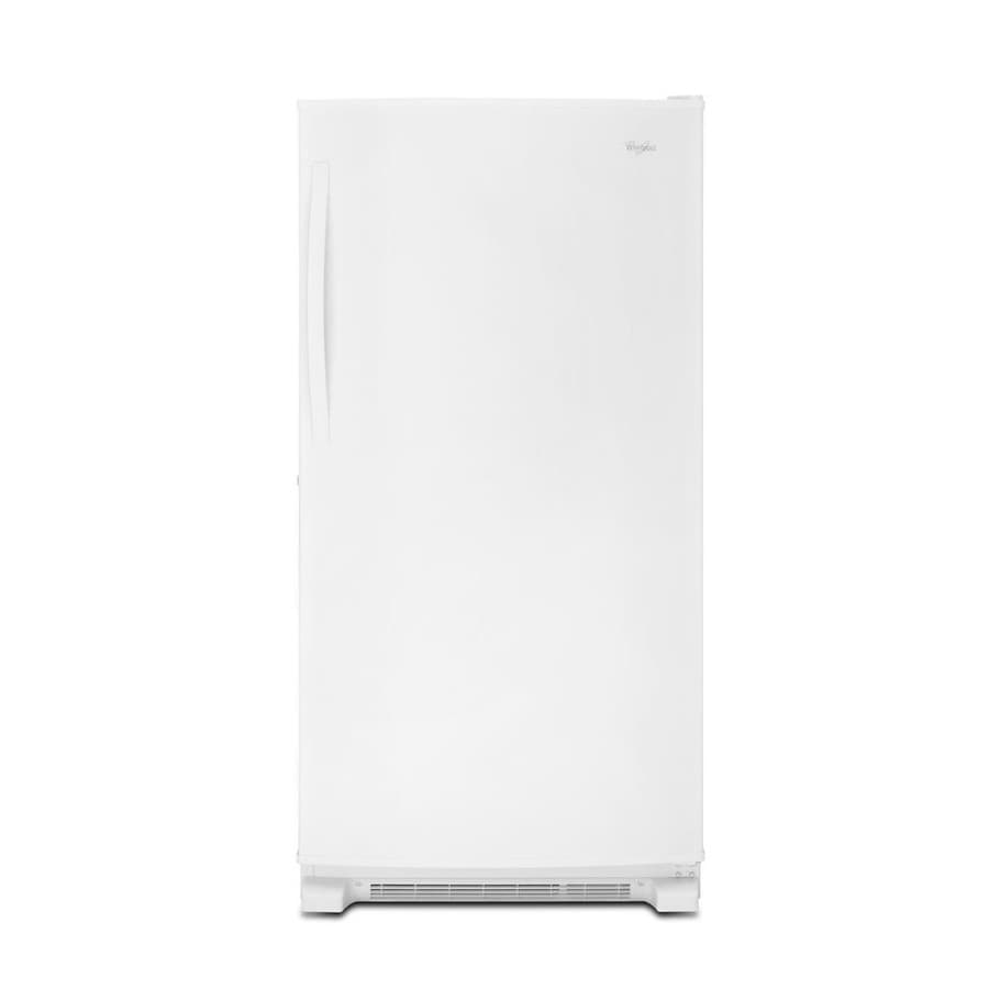Whirlpool 19.6-cu ft Frost-Free Upright Freezer (White)