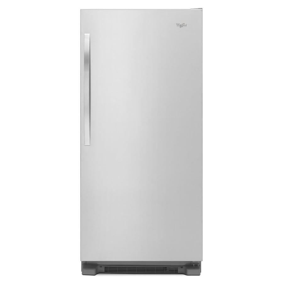 Whirlpool SideKick 17.7-cu ft Freezerless Refrigerator (Monochromatic Stainless Steel)