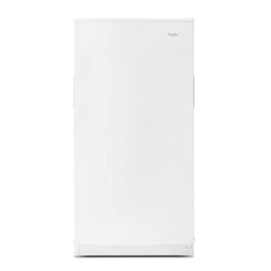Whirlpool 15.7-cu ft Frost-Free Upright Freezer (White)