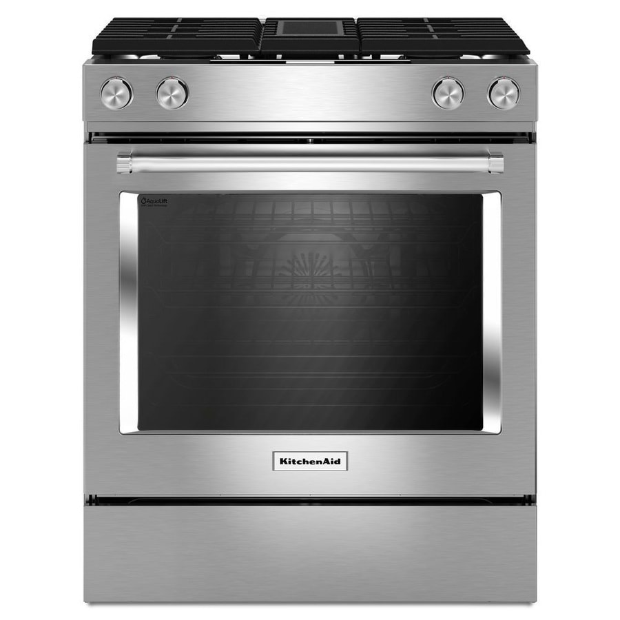 Wonderful Dual Fuel Oven Range Part - 3: Display Product Reviews For Self-Cleaning Convection Single Oven Dual Fuel  Range With Downdraft Exhaust
