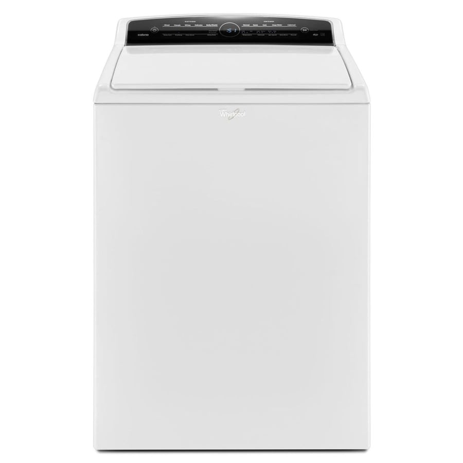 Whirlpool Cabrio 4.8-cu ft High-Efficiency Top-Load Washer (White) ENERGY STAR