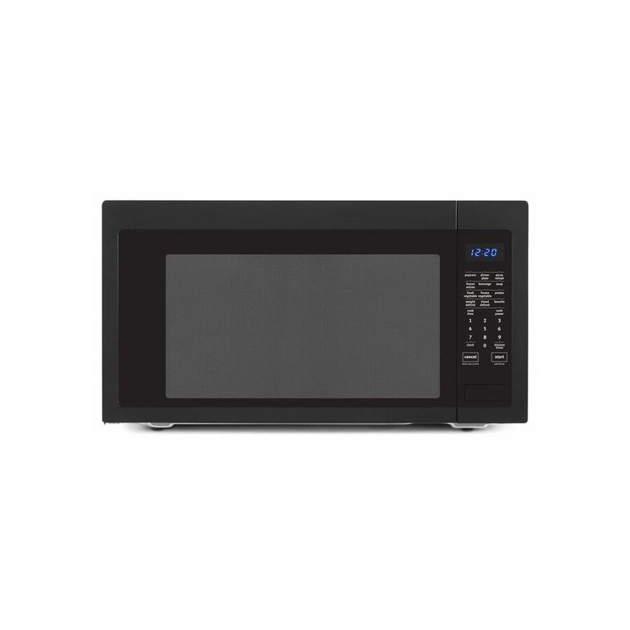 ... cu ft 1,200-Watt Countertop Microwave (Black) at Lowes.com