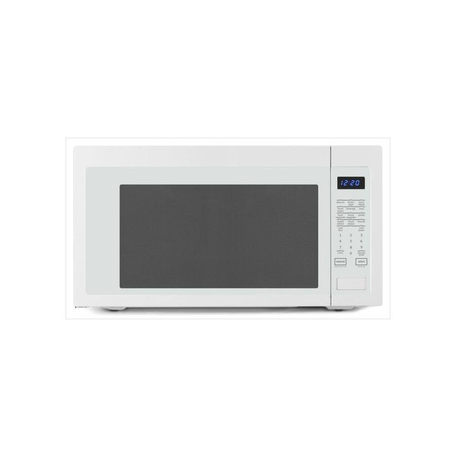 Whirlpool 2.2-cu ft 1200-Watt Countertop Microwave (White)