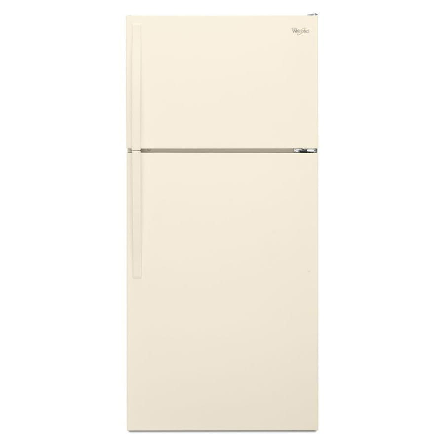 Whirlpool 14.3-cu ft Top-Freezer Refrigerator (Biscuit)