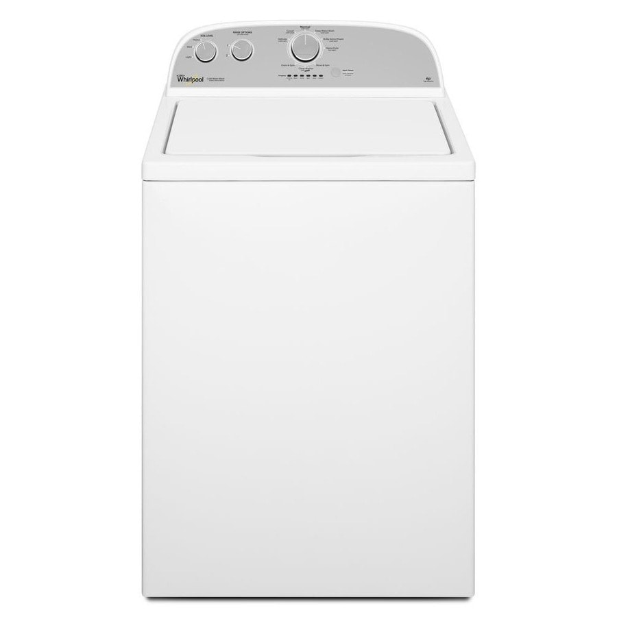 Whirlpool 3.5-cu ft High-Efficiency Top-Load Washer (White)