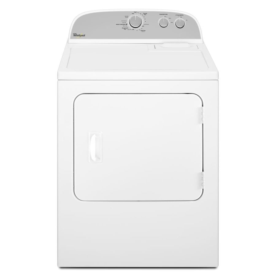 Whirlpool 7-cu ft Electric Dryer (White) - While Supplies Last