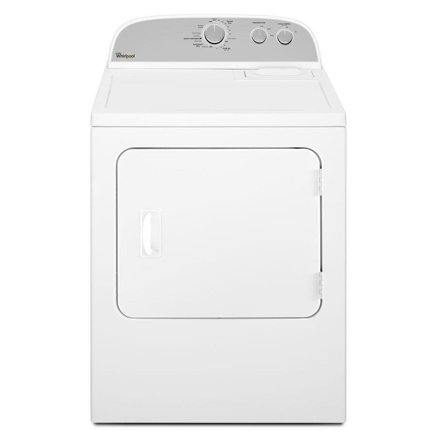 shop whirlpool 7 cu ft gas dryer white at. Black Bedroom Furniture Sets. Home Design Ideas