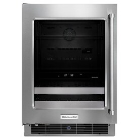 kitchenaid 48cu ft stainless steel beverage center