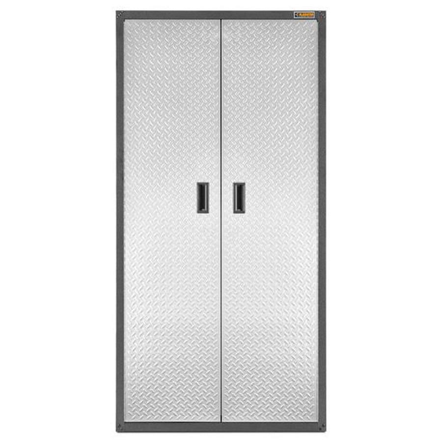 Gladiator Ready-to-Assemble All-Season GearCloset 36-in W x 72-in H x 24-in D Steel Freestanding Or Wall-mount Garage Cabinet
