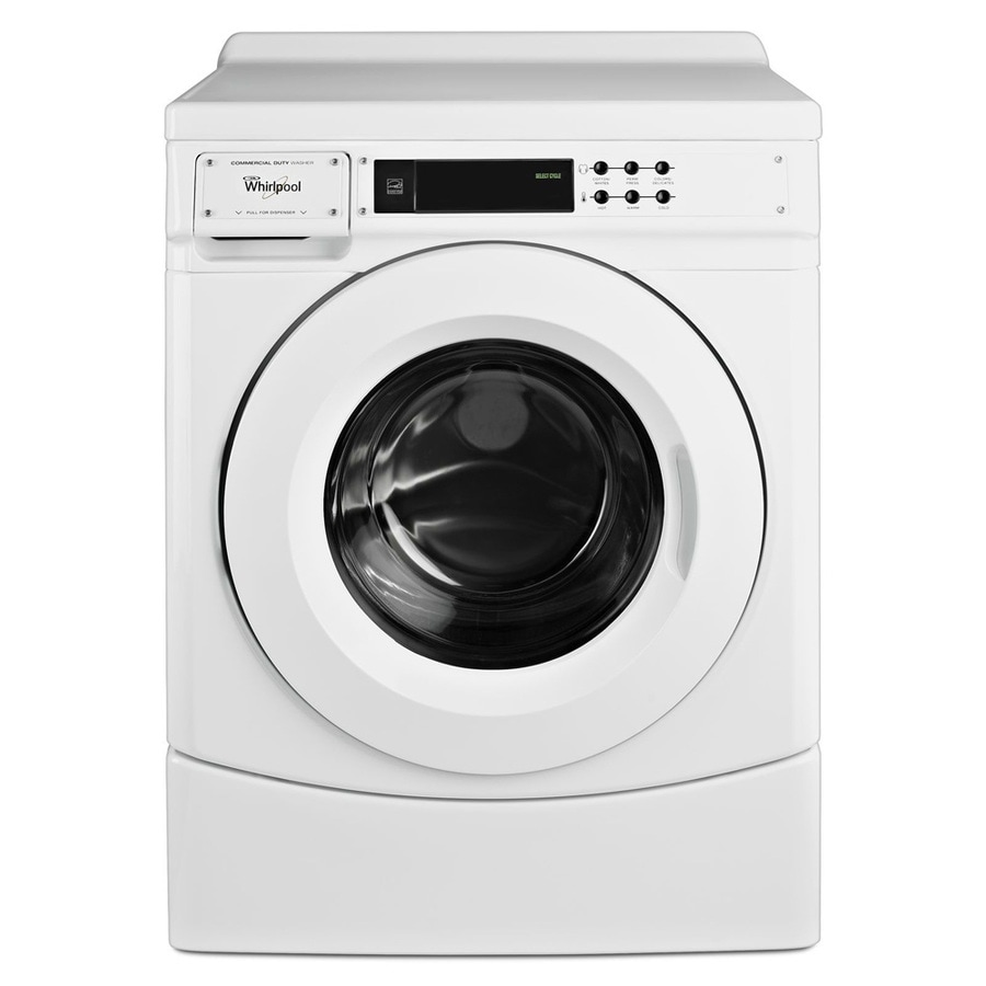 Whirlpool 3.1-cu ft Front Load Commercial Washer (White) ENERGY STAR