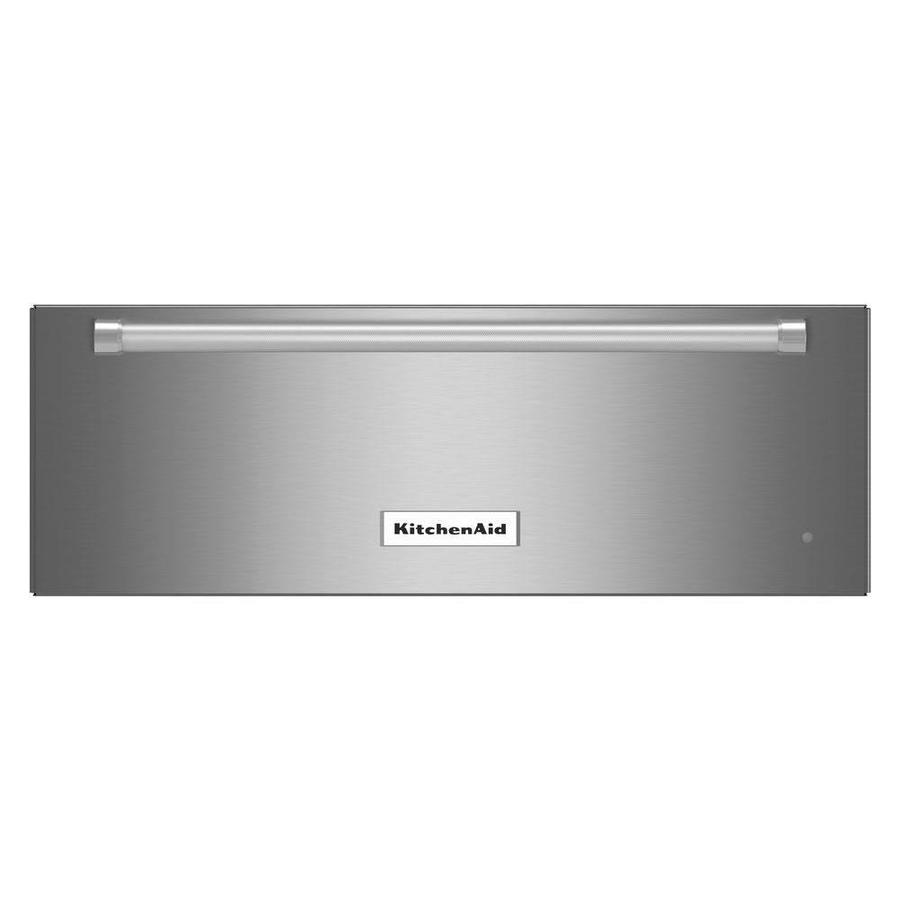 KitchenAid Warming Drawer (Stainless Steel) (Common: 27-in; Actual: 10.25-in)