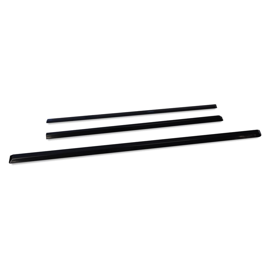 shop whirlpool range filler trim kit  black  at lowes com