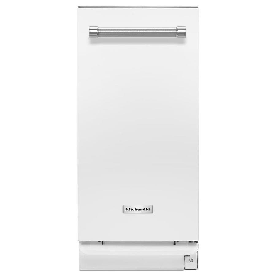 KitchenAid 15-in White Undercounter Trash Compactor