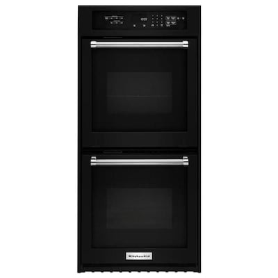 Kitchenaid Self Cleaning Single Fan Double Electric Wall Oven