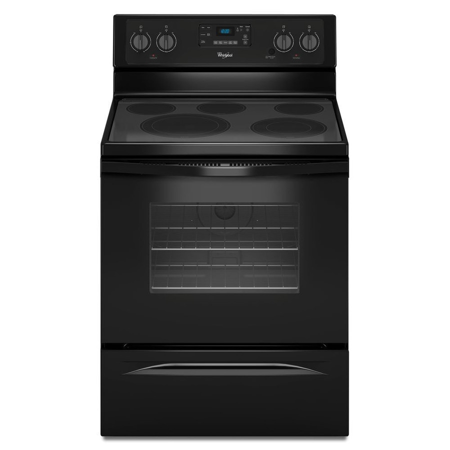 Shop Whirlpool Smooth Surface Freestanding 5 Element 5 3