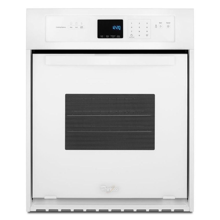 Shop Whirlpool Single Electric Wall Oven White Common