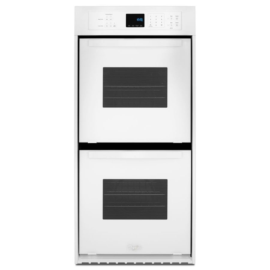 Whirlpool Self-Cleaning Double Electric Wall Oven (White) (Common: 24-in; Actual: 23.75-in)