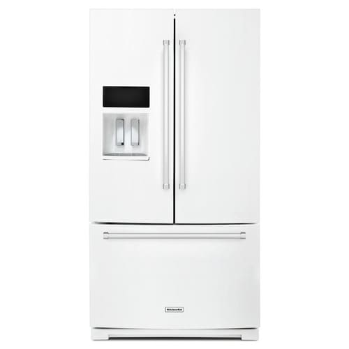 KitchenAid 26.8-cu ft French Door Refrigerator with Ice ...