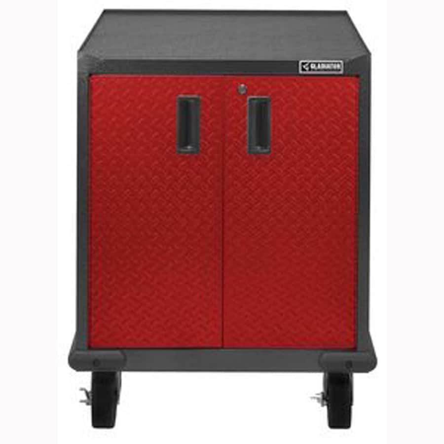 Shop gladiator premier modular gearbox 28 in w x 34 5 in h for Premier garage cabinets