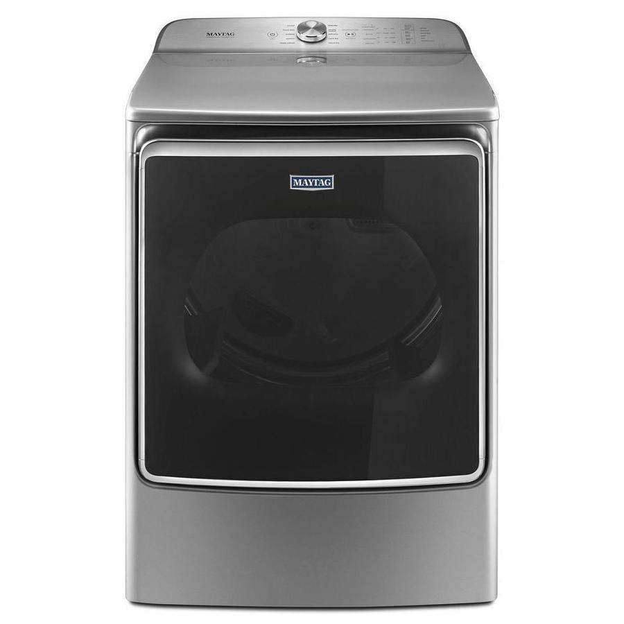 Maytag 9.2-cu ft Electric Dryer (Chrome Shadow) ENERGY STAR